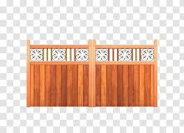 Split Rail Fence Gate Iroko Driveway Wood Transparent Png