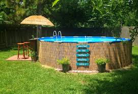 Top 110 Diy Above Ground Pool Ideas On A Budget Above Ground Pool Landscaping Above Ground Swimming Pools Backyard Pool
