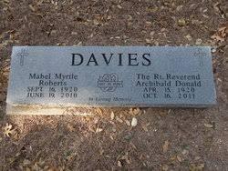 Mabel Myrtle Roberts Davies (1920-2010) - Find A Grave Memorial
