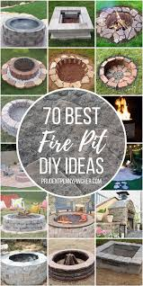 70 best diy fire pits prudent penny