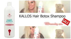hair botox shoo kallos you