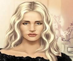 rosie huntington true make up play