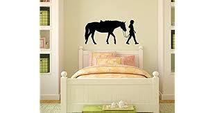 Wild Pony Horse Decals Girl Wall Art Mural Stickers Farm Animals Kids Room Decor