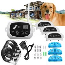 Hotwireless Pet 3 Dog Fence No Wire Training Containment System Collar Rech Shopee Singapore