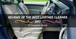 reviews of the best leather cleaner