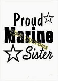 Proud Navy Sister Vinyl Car Window Laptop Decal Sticker 7 39 Picclick