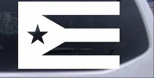 Puerto Rico Flag Car Or Truck Window Decal Sticker Rad Dezigns