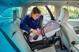 maxi cosi car seat installation care