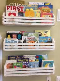 Rustic Childrens Book Shelvesset Of 3 Kids Book Shelves Etsy