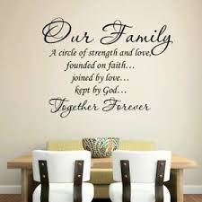 Family Rules Home Decoration Wall Sticker Dining Room Living Room Wall Decal Ebay