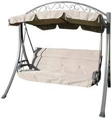 luxury garden 3 seater swing seat