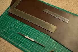 leather diy watch strap tutorial