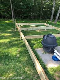 New Diy Pool Pump House Week Of July 4th Project Four Generations One Roof