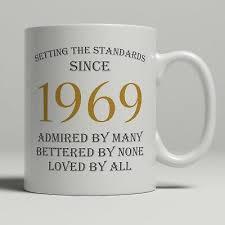 50th birthday present gift born 1969