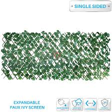 Buy Patio Paradise 15 X 48 Faux Ivy Privacy Fence Screen With Expand Retractable Panel Artificial Leaf Vine Hedge Outdoor Decor Garden Backyard Decoration Panels Fence Cover In Cheap Price On Alibaba Com