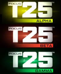 focus t25 workout schedule free pdf