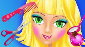 princess hair salon makeup games