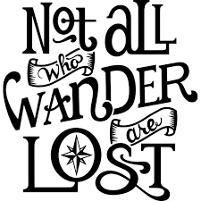 Not All Who Wander Are Lost Vinyl Decal Sticker For Car Truck Window Adventure Cricut Projects Vinyl Laptop Decal Stickers Vinyl Decals