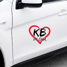 15 13 1cm Kobe Bryant Is In Our Hearts Car Automobile Sticker Window Body Bumper Stickers And Decals For Car Home Decorations Car Stickers Aliexpress