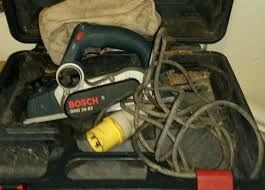 Bosch Gh26 82 Electric Planer 110v In Queensbury West Yorkshire Gumtree