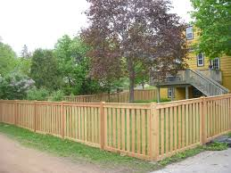Cedar Picket Dan S Fence Llc Wood Fence Design Wood Picket Fence Privacy Fence Designs