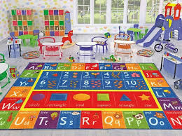 Kids Area Rug 5x7 Carpet Baby Mat Car Play Mat Learning Numbers Non Skid For Sale Online Ebay