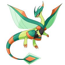 OC] Mega Flygon [x-post from r/PokemonPhoenixRising] : pokemon