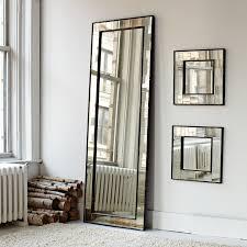 wall mirrors with floor venetian mirror