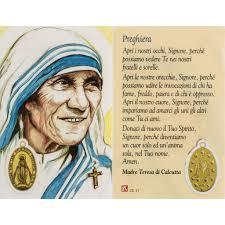 preghiere in pergamena madre teresa di calcutta - Risultati Yahoo Italia  della ricerca di immagini   Madre teresa, Preghiere, Prima comunione