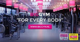 biggym sporten vanaf 7 50 per 4 weken