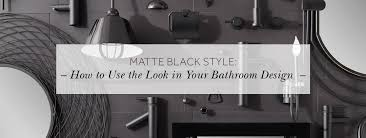 matte black style how to use the look