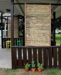 Diy Bamboo Privacy Screen Christina Maria Blog