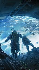 sci fi solr skydiving 4k wallpaper 68