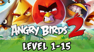 Angry Birds 2 - Level 1-15 Cobalt Plateaus Feathery Hills Gameplay ...