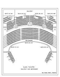 elgin og winter garden theatre kart