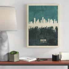 Houston Wall Art You Ll Love In 2020 Wayfair