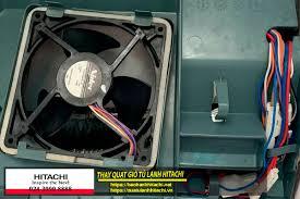 Cách tháo quạt gió tủ lạnh Hitachi với cách thao tác đơn giản - SỬA TỦ LẠNH  HITACHI SIDE BY SIDE INVERTER 086 999 1234