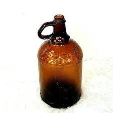 vintage clorox bleach bottle glass