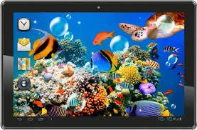 live wallpaper fish aquarium