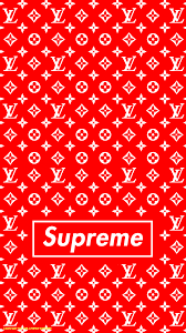 louis vuitton red wallpapers top free