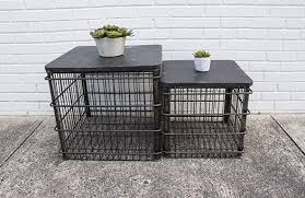 wire basket coffee table large ampa