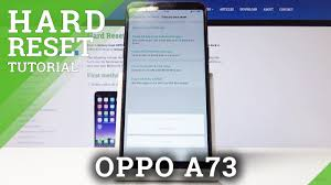 How to Factory Reset OPPO A73 – Wipe Data - YouTube