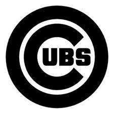 Chicago Cubs Logo Mlb Sticker Vinyl Decal Wall Art 253 Etsy
