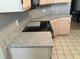 luna pearl granite countertops installation