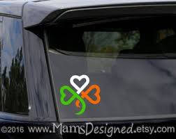 Irish Flag Decal Etsy