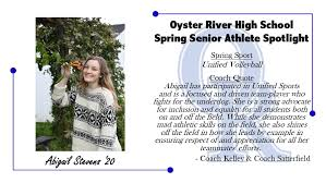 Today's Senior Spotlights are Abigail... - Go Oyster River Bobcats |  Facebook