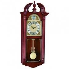 ferrum wall clock with swinging
