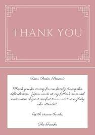 33 best funeral thank you cards love