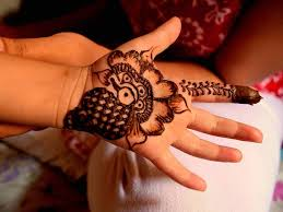 stylish mehndi designs for your kids