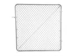 Chain Link Fence Gate For Sites Of Temporary Chain Link Fence Usage